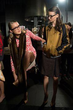 Backstage - Kate Sylvester - Melbourne Fashion Festival
