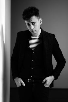The Influence of a Silhouette // Hedi Slimane http://www.vogue.fr/thevoguelist/hedi-slimane/111