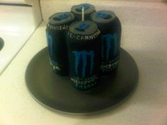 Monster Energy. Baked September 27, 2010. Birthday Chocolate
