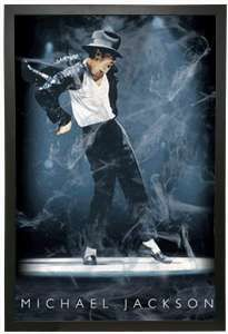 3D lenticular Wall Art of The King of Pop - Michael Jackson.