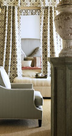 Joe Ruggiero design. New fabric introduction.