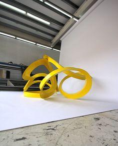 Volatile 1 Sculpture by KORBAN/FLAUBERT