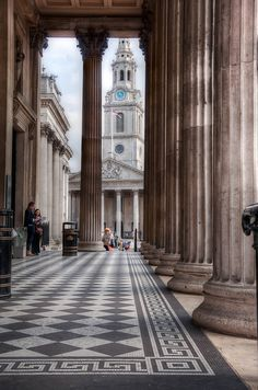 St.Martin in the Fields, London, I have had lunch in the Crypt Cafe here many times!