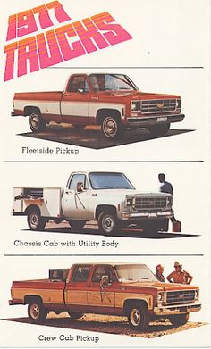 1977 Chevy truck ad