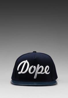 STAMPD Dope Hat in Navy White - Fedora Hat Women ef09637689d7