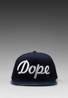 STAMPD Dope Hat in Navy/White -