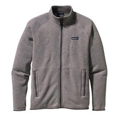 Patagonia Men\'s Better Sweater\u00AE Fleece Jacket - Stonewash STH-665 $139 (also available in black and red)