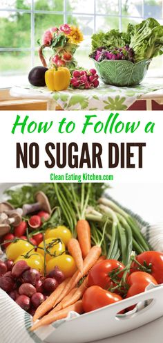 If you're looking to cut back or completely eliminate sugar from your diet, you'll love this article with meal planning and tips for a no sugar diet. Healthy Fruits, Healthy Snacks, Healthy Eating, Healthy Life, No Sugar Diet, Sugar Detox, Low Calorie Recipes, Diet Recipes, Healthy Recipes