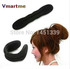 Find More Styling Tools Information about 1 X Magic Bun Hair Twist Styling Braid Tool Holder Clip,High Quality Styling Tools from Vmartme on Aliexpress.com