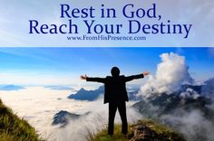 The real secret to reaching your destiny: RESTING in God! Read this blog series for practical tips about how to achieve your dream and rest at the same time.
