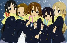 K-ON snowy winter anime wallpaper by 2scu on DeviantArt