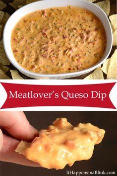 Queso Steak Dip Recipe — Dishmaps