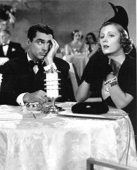 """Cary Grant and Irene Dunne are hilarious in """"The Awful Truth."""" so great in screwball comedies ."""