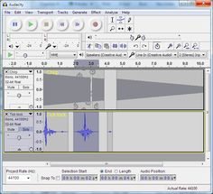 Audacity tutorial (Colin Maxwell)