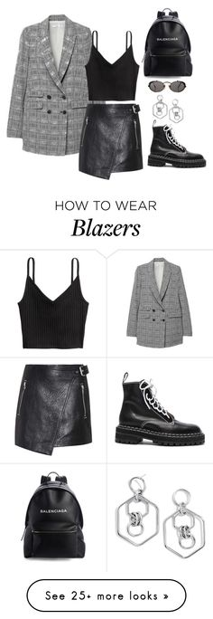 """""""Untitled #326"""" by m0dernlove on Polyvore featuring H&M, BaubleBar, Étoile Isabel Marant, Proenza Schouler, Jean-Paul Gaultier and Balenciaga"""