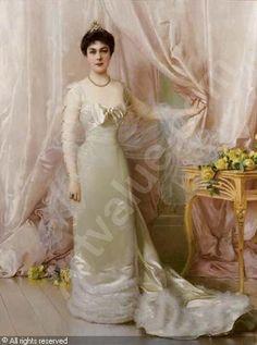 Ritratto della Principessa Evelina Colonna di Stigliano