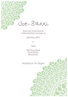 Printable Wedding Invitation,  DIY Digital,  Modern Floral, Wedding Printables, Wedding Template