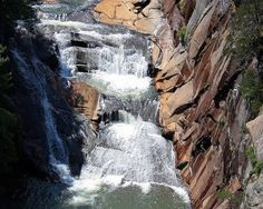 Tallulah Gorge State Park waterfall