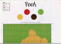"""Gallery.ru / elypetrova - Альбом """"44"""" Hundred Acre Woods, Cross Stitch Patterns, Stitching Patterns, Knitting Charts, Cross Stitching, Fabric Crafts, Winnie The Pooh, Family Guy, Album"""