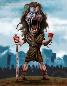 Funny Caricatures, Celebrity Caricatures, Helloween Wallpaper, Mlb Stadiums, Biker Tattoos, William Wallace, Wtf Face, Sunset Wallpaper, Character Sheet