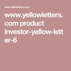 Yellow Letter Investor 6 Lease Option Direct Mail for Real