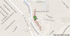 Map of Av. Olga Fadel Abarca - Jardim Santa Terezinha (Zona Leste), São Paulo - SP, 03572-020