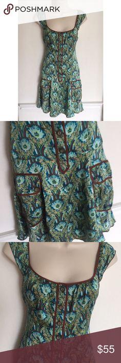 Free People Silk Sleeveless Sundress Free People Silk Sleeveless Sundress 100% silk size 2 Free People Dresses