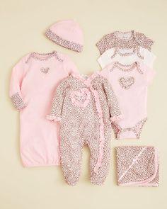 Little Me Infant Girls' Leopard Footie - Sizes 0-9 Months Bloomingdale's