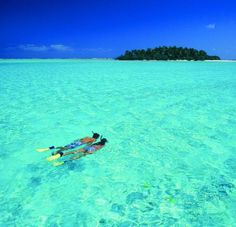 Cook Islands- I don't even know where these are, but it looks so pretty!