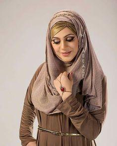 HiJaB TuToRiaLs  !! Hijab Tutorial, Head And Neck, Hijabs, Face, Fabric, Tutorials, Color, Fashion, Tejido