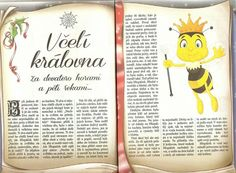 Včelí královna Diy And Crafts, Crafts For Kids, Bugs And Insects, Animal Crafts, Fairy Tales, Bee, Bullet Journal, Activities, Animals