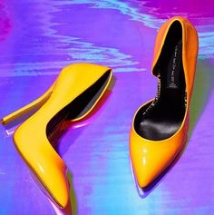 5cd4324719a Steve Madden Newbee Pumps - Bright Yellow