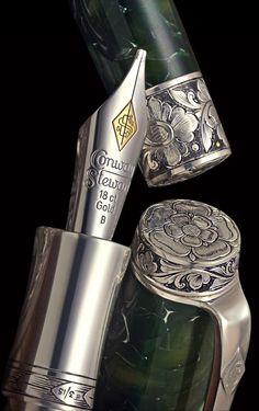 gatsbywise:GatsbywiseAbsolutely gorgous Conway Stewart fountain pen -