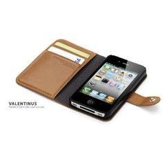 iPhone 4S Brown Leather Cases