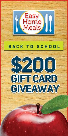 Enter today for your chance to win a $100 or $50 Visa Gift Card to use at your local grocery store!