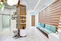Healthcare Design - Plastic surgery clinic for face, eye and neck in Toronto Tridel Hullmark Centre. www.carch.ca