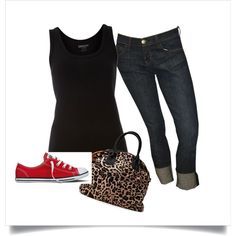 Simple Rockabilly, created by josewannier on Polyvore