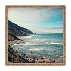 Catherine McDonald California Pacific Coast Highway Art Print | DENY Designs Home Accessories