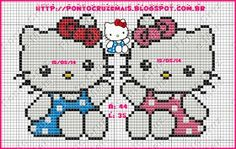 Hello Kitty cross stitch.