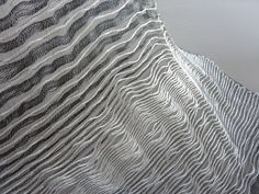 One of three natural structures explored, to investigate how nature's design influences all aspects of modern day design, research and our future development. Outcome is a selection of hand-woven fabrics to be used in architectural spaces and interior de…