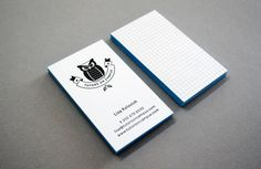 Tutors on Campus - Business Card Design Inspiration | Card Nerd
