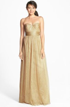 Jenny+Yoo+'Annabelle'+Convertible+Tulle+Column+Dress+(Regular+&+Plus+Size)+available+at+#Nordstrom