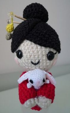 Download Chinese New Year Doll Amigurumi Pattern (FREE)
