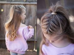 Half up french braid | High ponytail | CGH Lifestyle