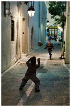 Street Football by Miguelec, via Flickr