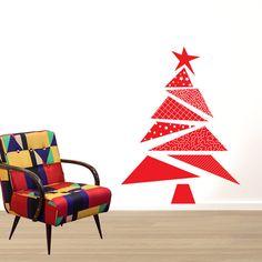 Adesivo de Parede Decorativo  Árvore de Natal  4