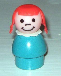 Aww, this brings back memories :) loved my little people Red Turquoise, Aqua, Coral, Vintage Love, Vintage Beauty, Childhood Toys, Childhood Memories, Red Wood, Vintage Fisher Price