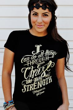 055-PHILLIPIANS413 Christian T-Shirt by JCLU Forever Christian t-shirts