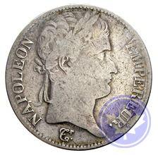 5 francs Napoléon Empereur 1813q conservation: ttb