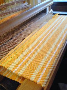 Vävstuga Rug Loom, Rag Rugs, Weaving Projects, Weaving Techniques, Power Loom, Woven Rug, Rug Making, Finland, Hand Weaving